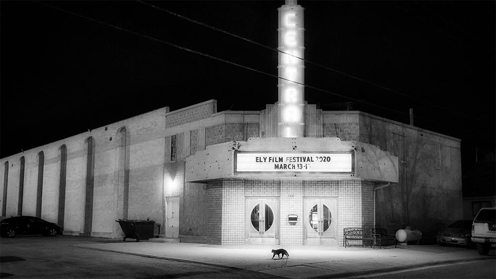 The Historic Central Theatre in Ely, Nevada